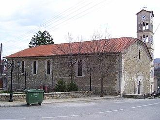 Nestorio - A church in the village