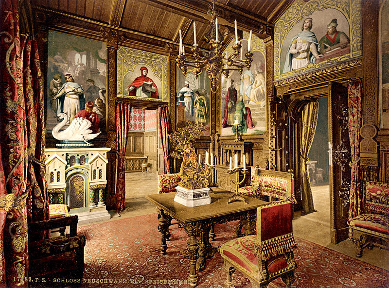 File:Neuschwanstein dining room 00184u.jpg