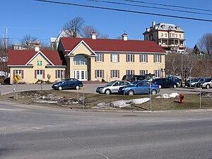Neuville, Quebec - Image: Neuville 2