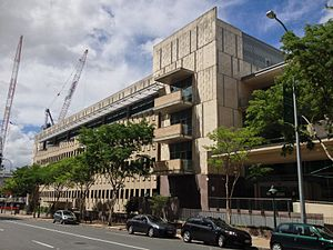 Neville Bonner - Former Neville Bonner Building, Brisbane demolished in 2017