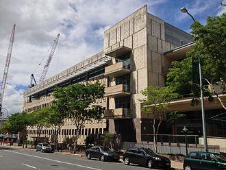 Neville Bonner - Former Neville Bonner Building, Brisbane demolished in 2017