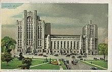 Detroit Masonic Temple - Wikipedia
