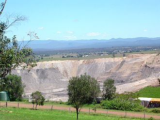 Rosewood, Queensland - New Oakleigh Mine closed in 2013