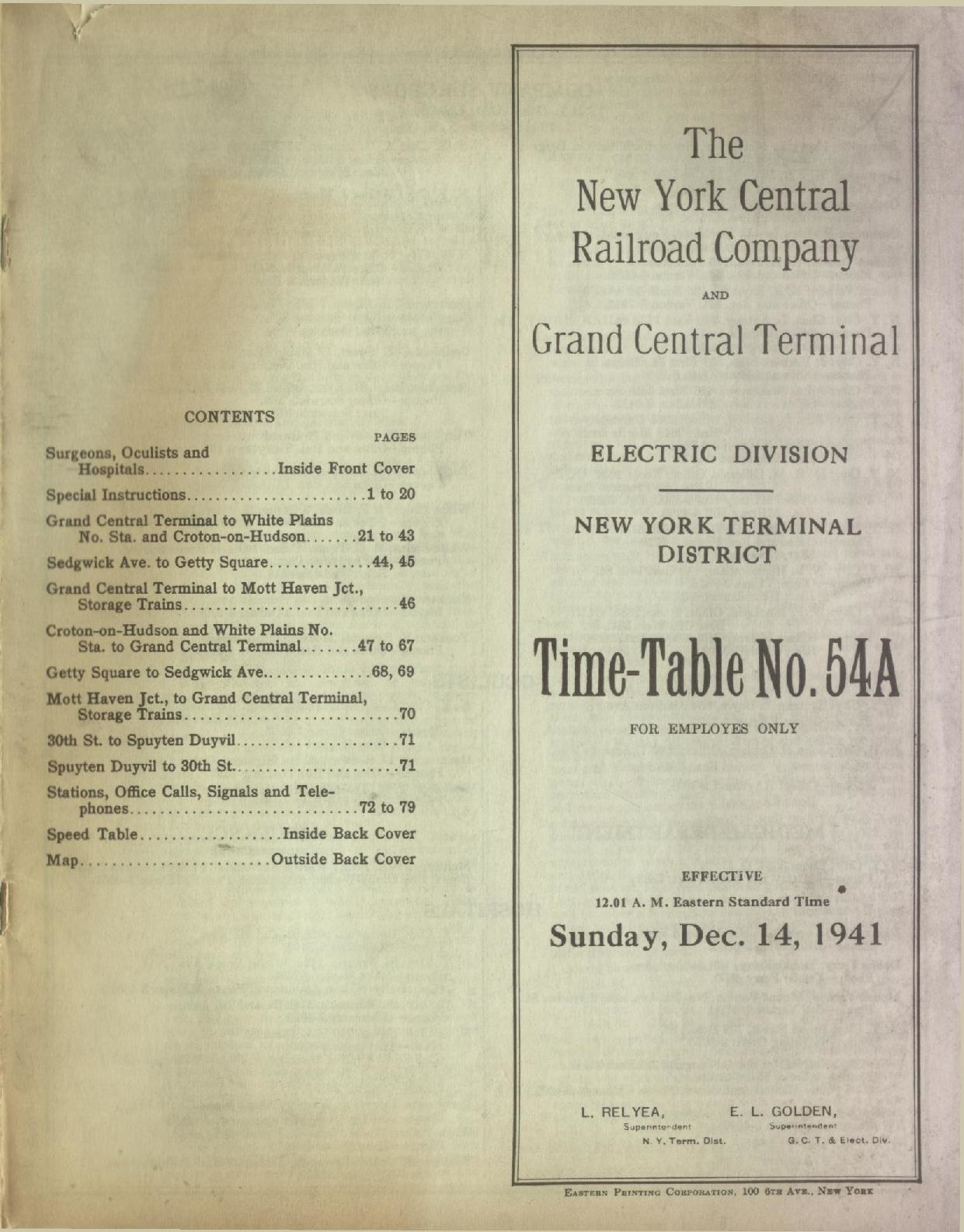 filenew york central railroad electric division employee timetable december 1941pdf