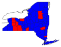 New York President 1996 by county.png