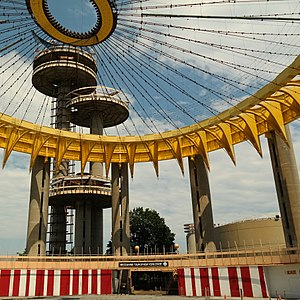 Richard Foster (architect) - New York State Pavilion, 1964, NYC