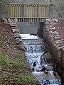 New spillway - Soudley Ponds - December 2013 - panoramio.jpg