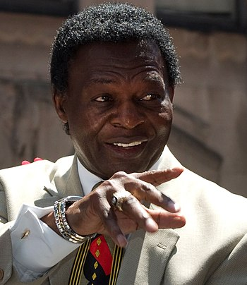 English: Lou Brock.