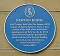 Newton House blue plaque Leeds.jpg