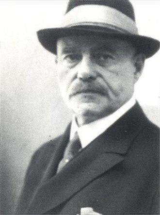 Hermann Sudermann - Image: Nicola Perscheid Hermann Sudermann nach 1925