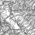 Niebieszczany und Prusiek bei Sanok Franzisco-Josephinische Landesaufnahme (1869-1887).jpg