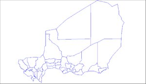 Departments of Niger - the pre-2011 36 Departments of Niger. A further 27 were then carved out of existing divisions.