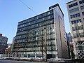 Nihon Seimei Higashi-yaesu Building, at Hatchobori, Chuo, Tokyo (2019-01-02).jpg