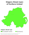 Northern Ireland Köppen.png