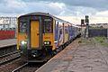 Northern Rail Class 150, 150271, Salford Central railway station (geograph 4500637).jpg