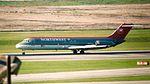 Northwest DC-9 Houston Hobby Airport N987US 02-11-AI- 5 (2) (31856426620).jpg