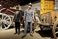Norway Military uniforms ca 1888 1894 Field blacksmith carriage feltsmie vogn Cannons etc Norwegian Armed Forces Museum Forsvarsmuseet Oslo 2019-03-31 DSC01519.jpg