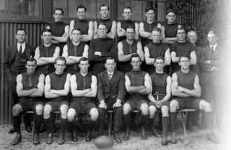 1922 SAFL season - 42nd SAFL season Pictured above is the 1922 Norwood premiership team.