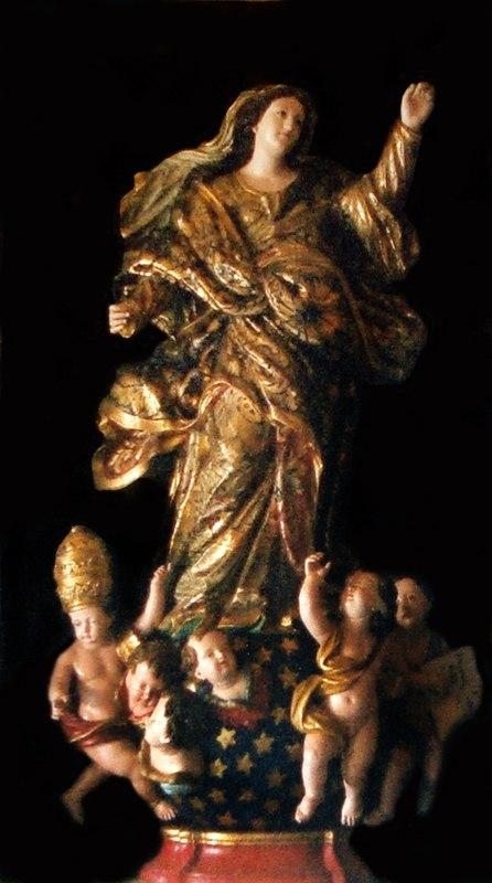 Nossa Senhora Sacristia da Catedral de Salvador