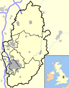 Mansfield is located in Nottinghamshire