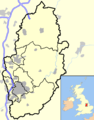 Nottinghamshire outline map with UK.png