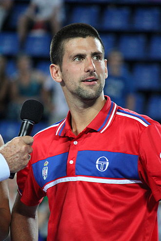 2011 Hopman Cup - Djokovic won all three of his singles rubbers to help Serbia finish top of Group A.