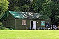 Nuthurst Cricket Club pavilion at Mannings Heath, West Sussex, England 02.jpg