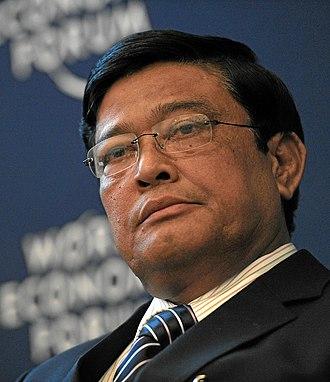 Vice-President of Myanmar - Image: Nyan Tun World Economic Forum 2013