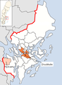 Nykvarn Municipality in Stockholm County.png