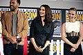 O. T. Fagbenle, Rachel Weisz & Scarlett Johansson (48471916977).jpg