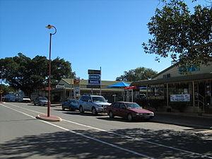 Dongara, Western Australia - Main Street of Dongara - Moreton Terrace