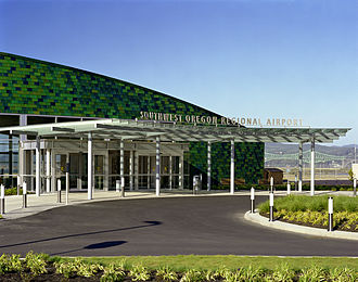 Southwest Oregon Regional Airport - Terminal Entrance