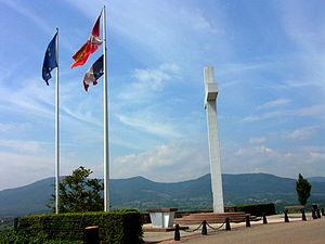 Malgré-nous - Monument to the Malgré-Nous in Obernai (Bas-Rhin).