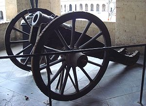 Gribeauval system - Obusier de 6 pouces Gribeauval (6-inch howitzer).