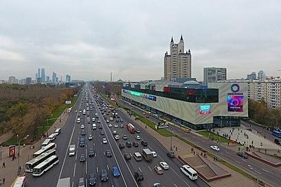 Как доехать до Кутузовский Проспект на общественном транспорте