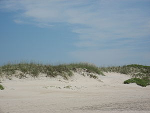Ocracoke, North Carolina - Sand Dunes