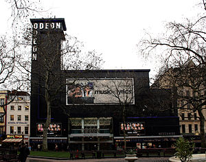 Odeon Leicester Square - The Odeon as seen from Leicester Square