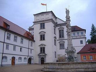 House of Oettingen-Wallerstein - Image: Oettingen Schloss 1