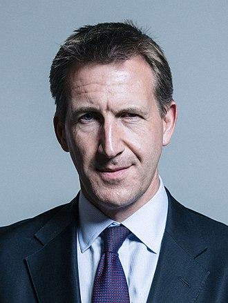 Mayor of the Sheffield City Region - Image: Official portrait of Dan Jarvis crop 2
