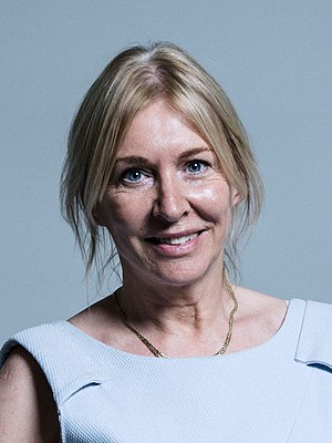 Nadine Dorries - Parliamentary photograph from June 2017