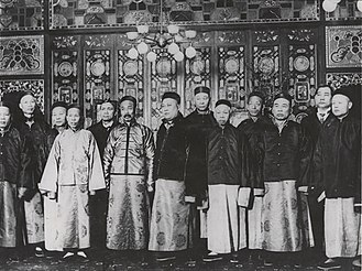 Chinatown, San Francisco - Officers of the Chinese Six Companies