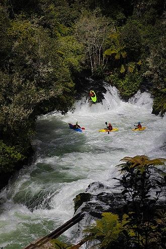 Kaituna River - Image: Okere falls