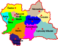 Okresy kraj Zilina Slovakia.png