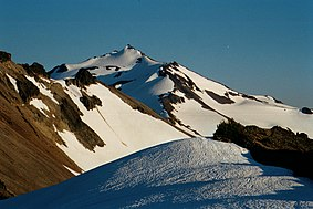 Vrcholek Old Snowy Mountain