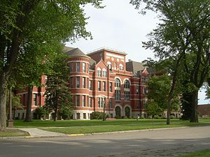 Mayville State University - Old Main, Mayville State University