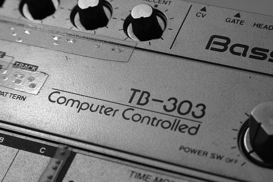 My Old Roland TB-303 but still working really well. (made in 1982)