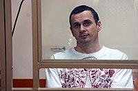 Oleg Sentsov, Ukrainian political prisoner in Russia, 2015.JPG