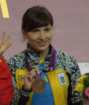 Olena Kostevych - Kostevych at the 2012 Olympics
