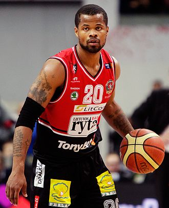 Omar Cook - Cook playing with Lietuvos rytas in May 2014.