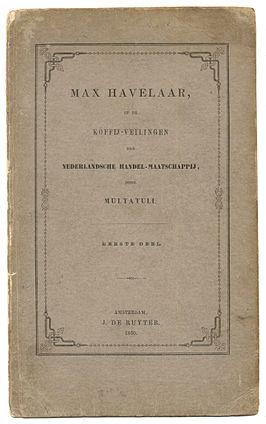 Max Havelaar Boek Wikipedia